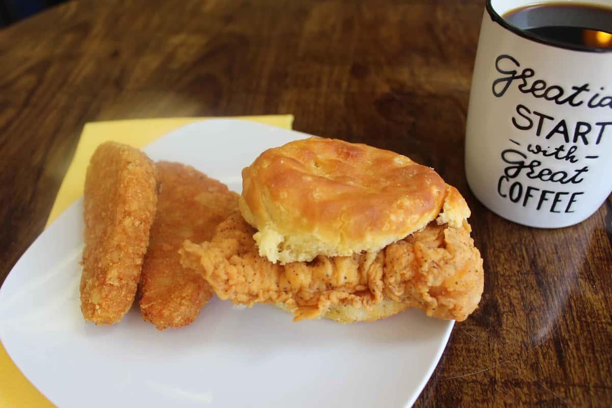 Chicken Biscuit Combo