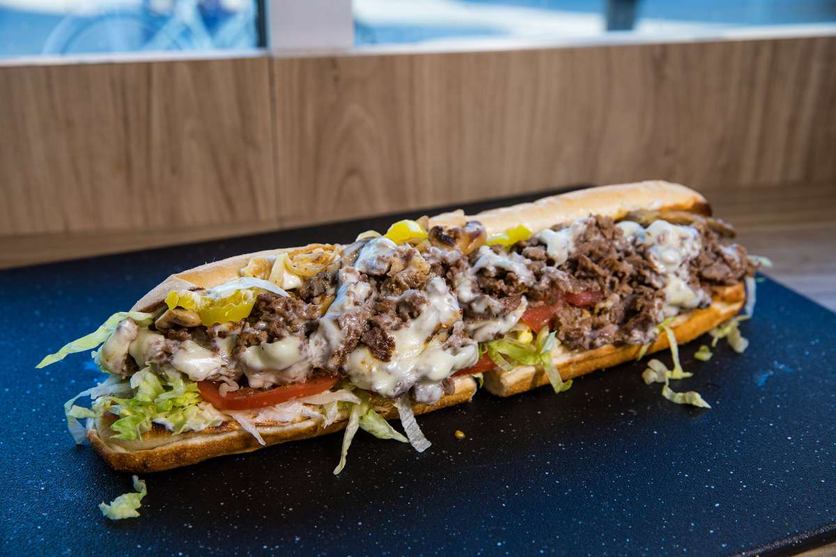 Alexs Philly Steak Deluxe