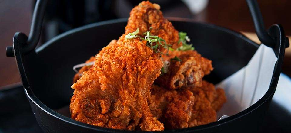 """""""Blue Ribbon Style"""" Fried Chicken"""