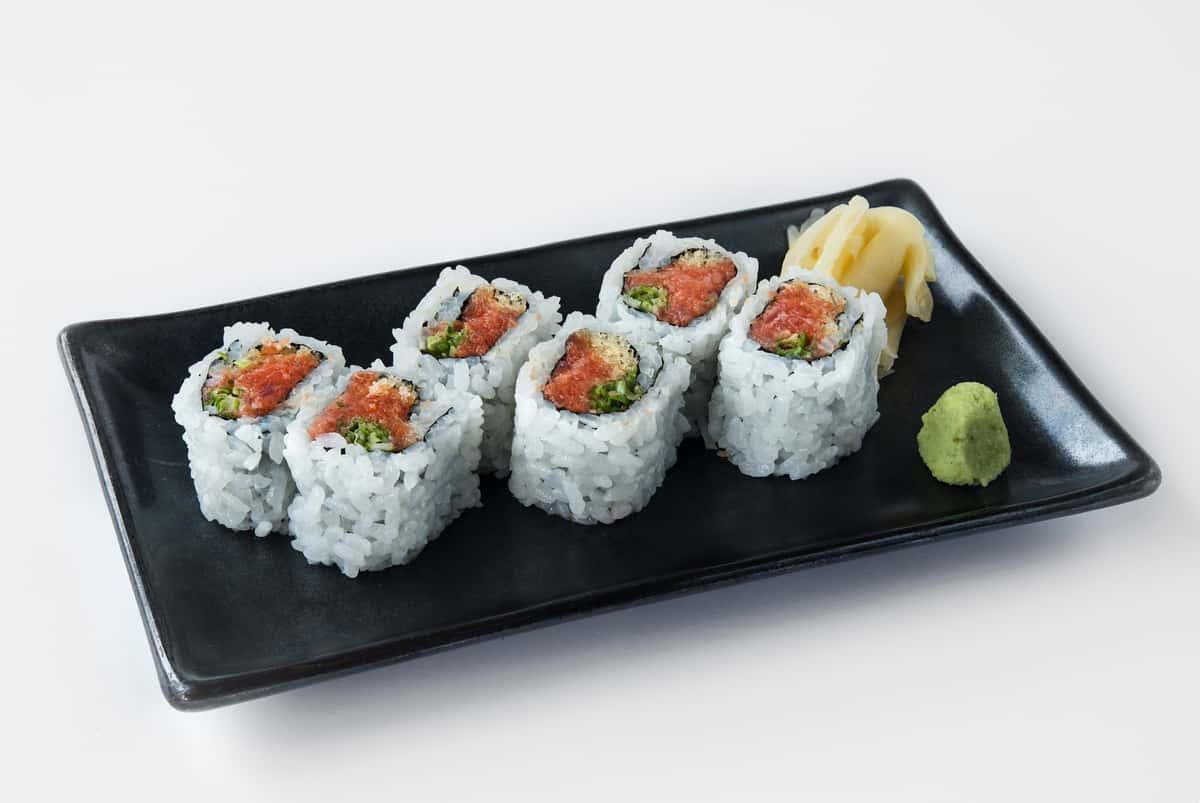 Spicy Tuna & Tempura Flakes