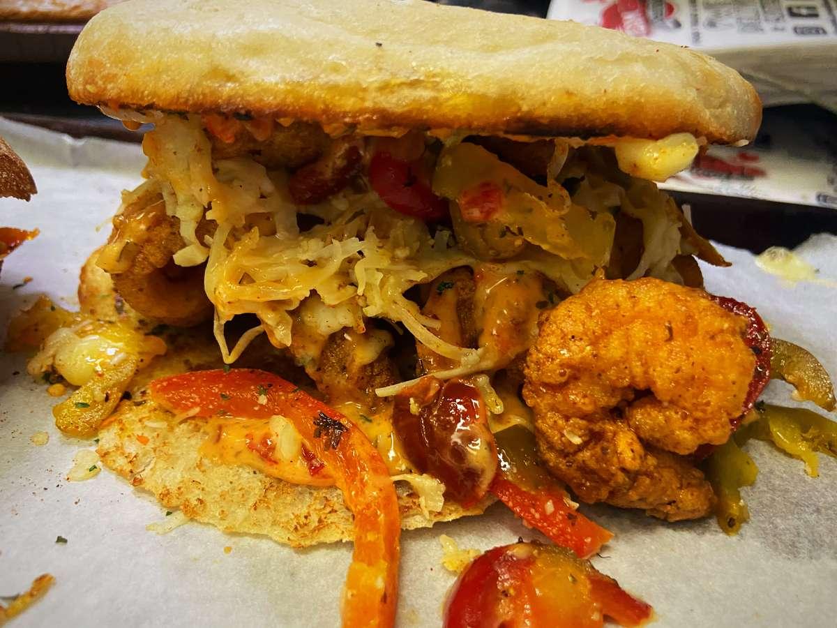 Full Boom Fish Sandwich