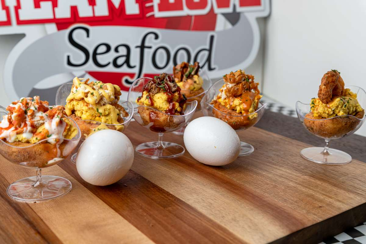 Make Your Own Deep Fried Deviled Eggs Pack
