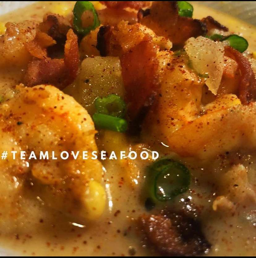 Cajun Shrimp & Corn Chowder