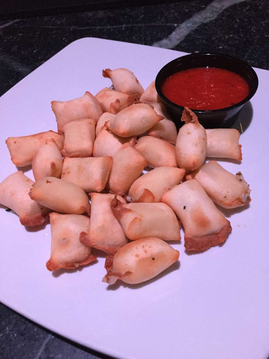 Homemade Ravioli Poppers