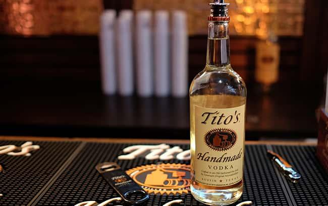 Tito's Vodka Drinks