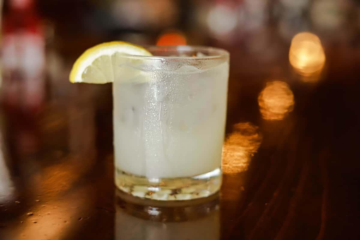 Basil Lemon Gimlet