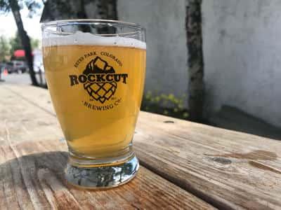 Rock Cut Brewery - altruism amber / Galactic Portal