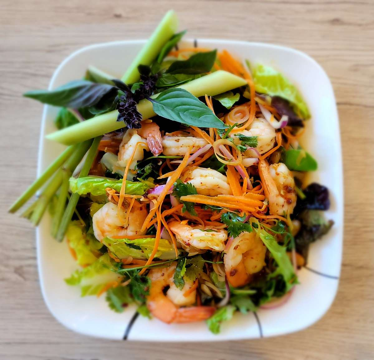 #9 Spicy Shrimp Salad
