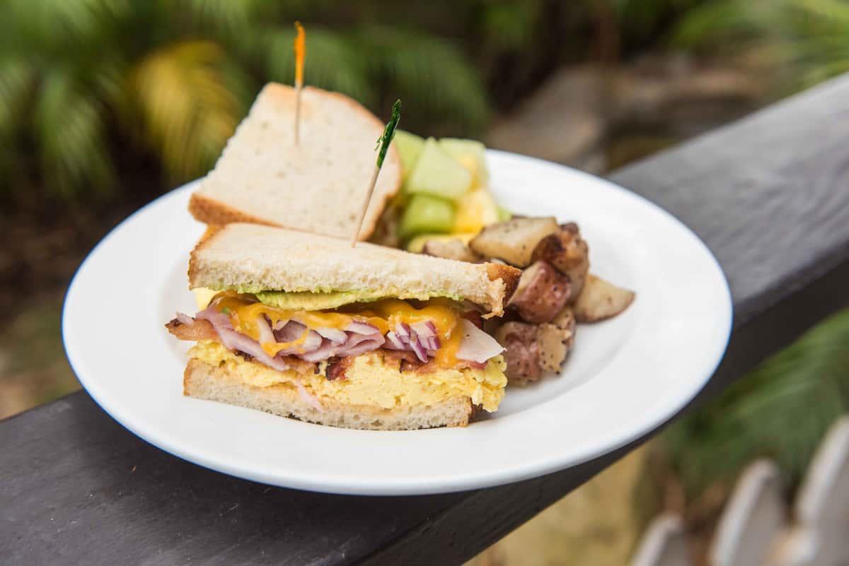 The Oinkster Sandwich