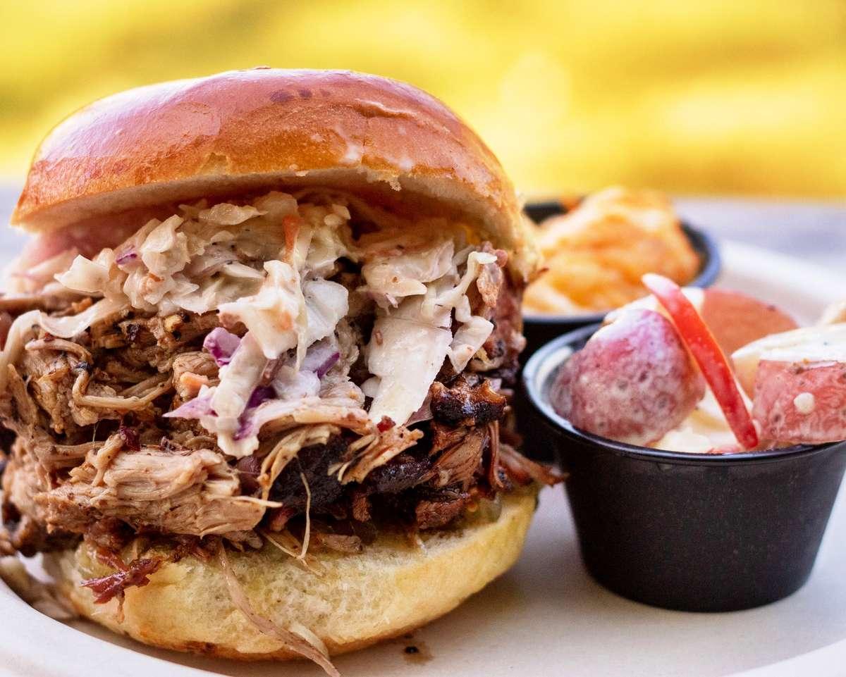 Pork Sandwich Buffet