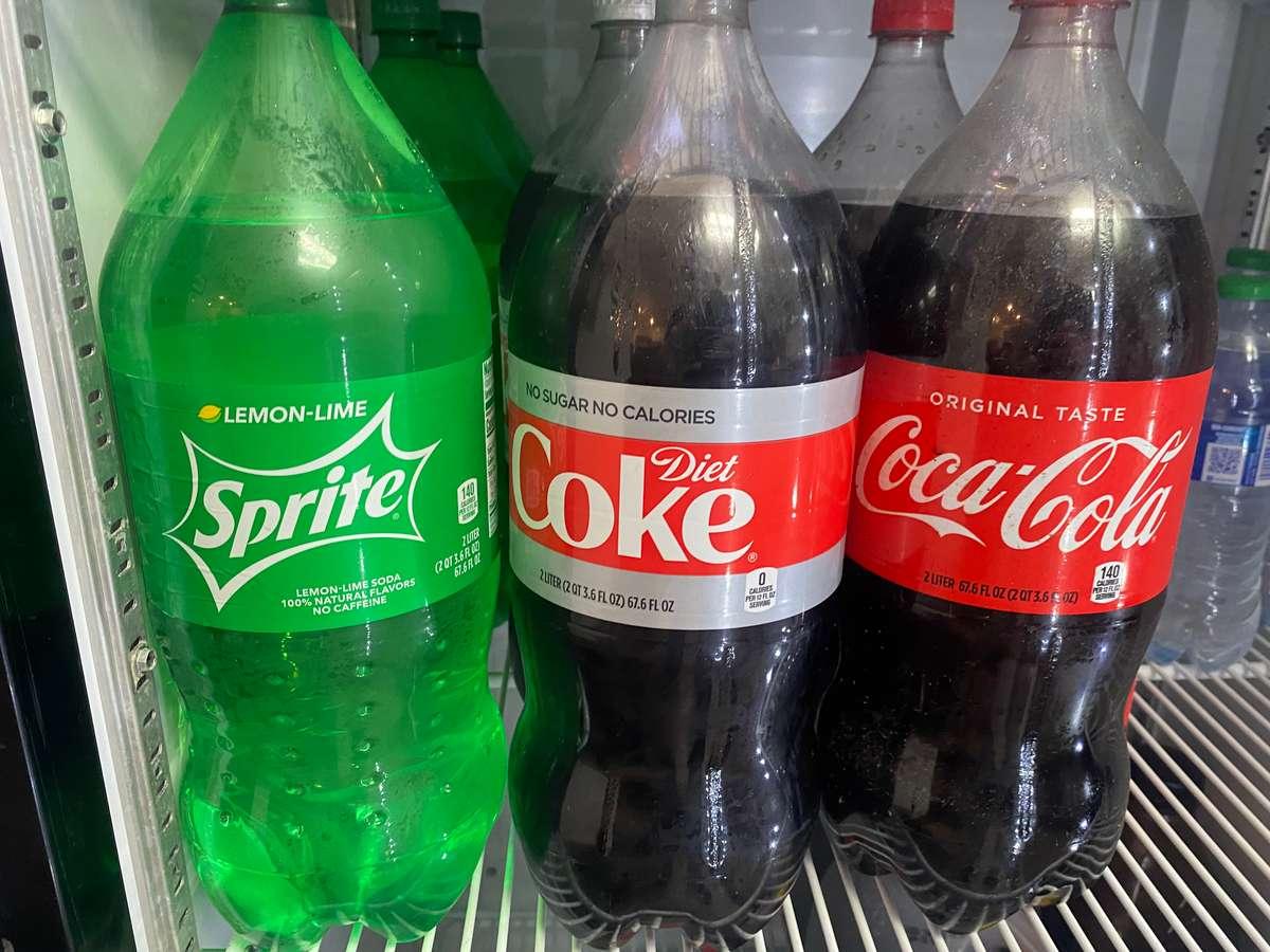 2 Liter Sodas