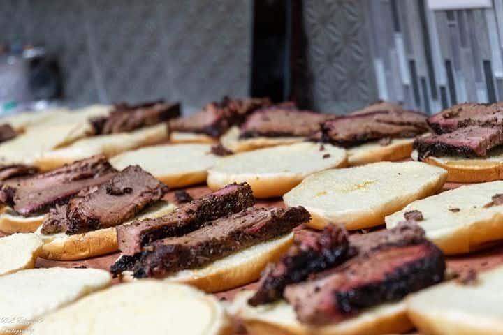 Brisket Sandwich Buffet
