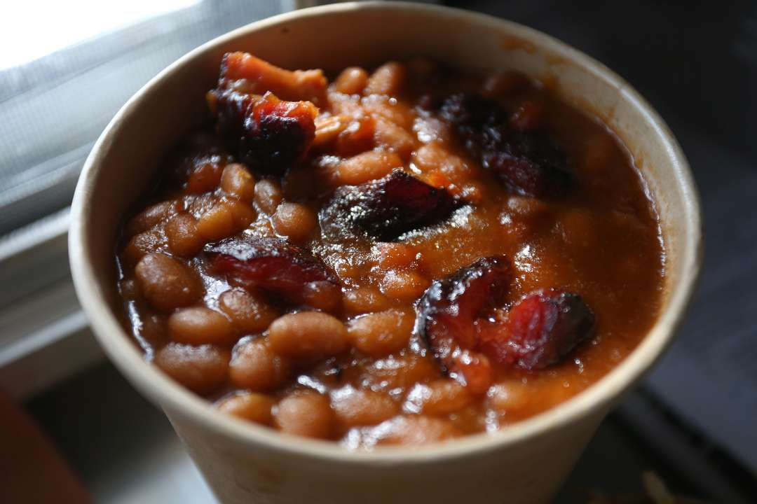 Pit Smoaked Baked Beans