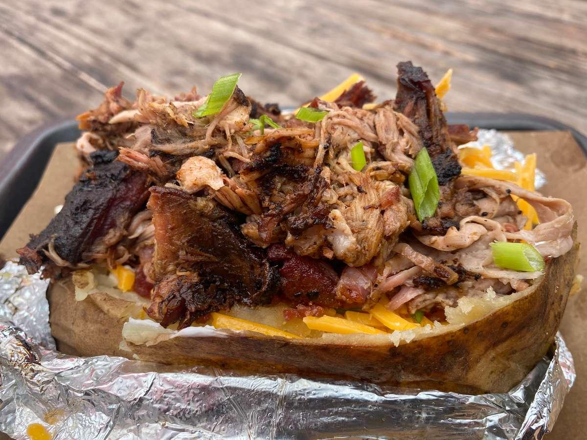 Pork BBQ Tater