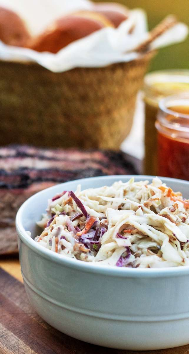 Blue Cheese & Bacon Coleslaw