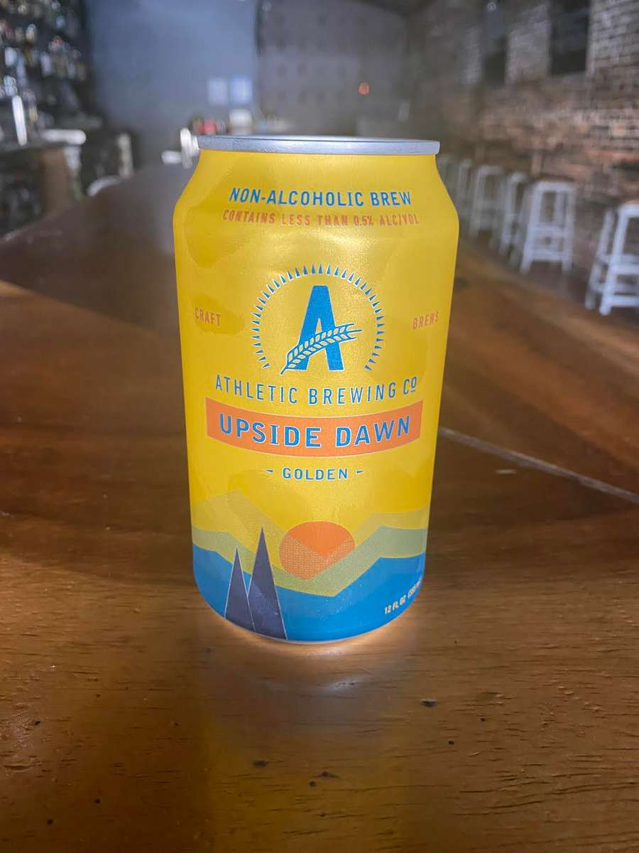 Athletic Brewing Upside Dawn Non-Alcohol Golden