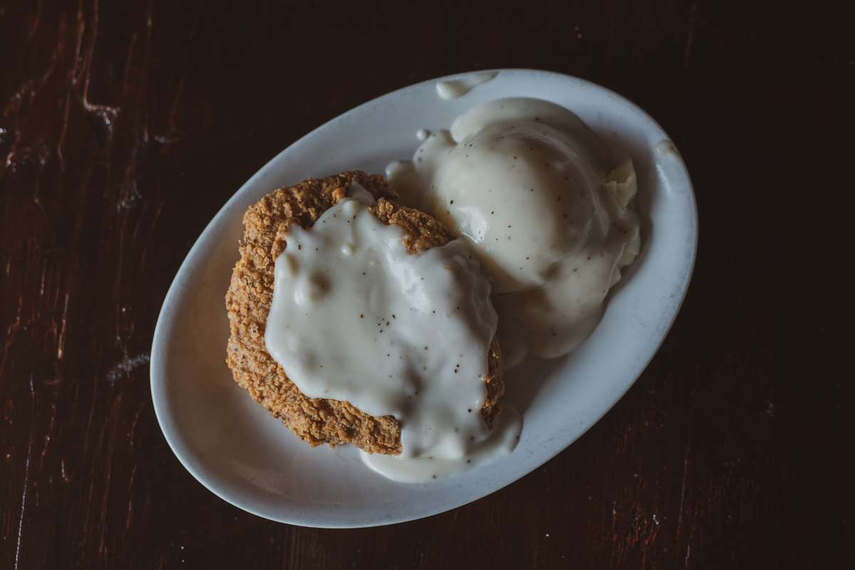 1/2 lb Hand Battered Country Fried Steak