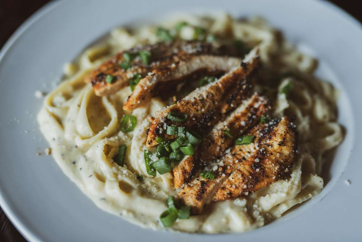 Roasted Garlic Alfredo