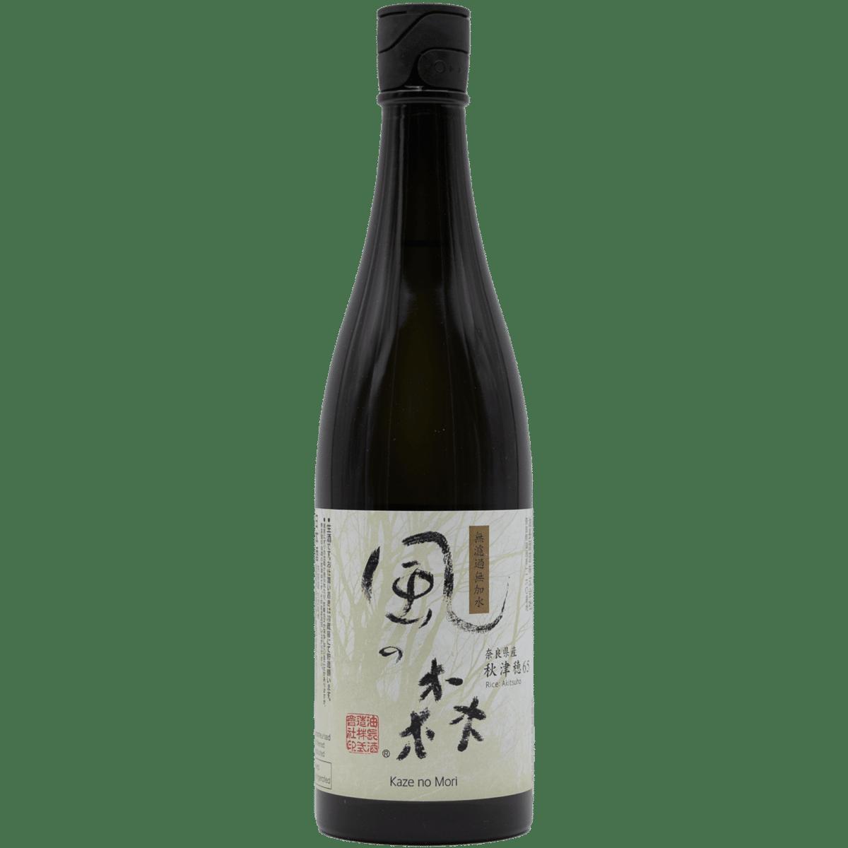 Kaze No Mori Wind of the Woods Genshu Junmai Sake 720ml
