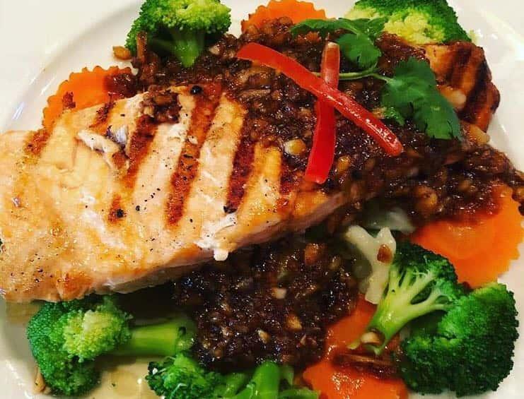 Grilled Fresh Salmon