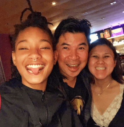 Willow Smith and our owner