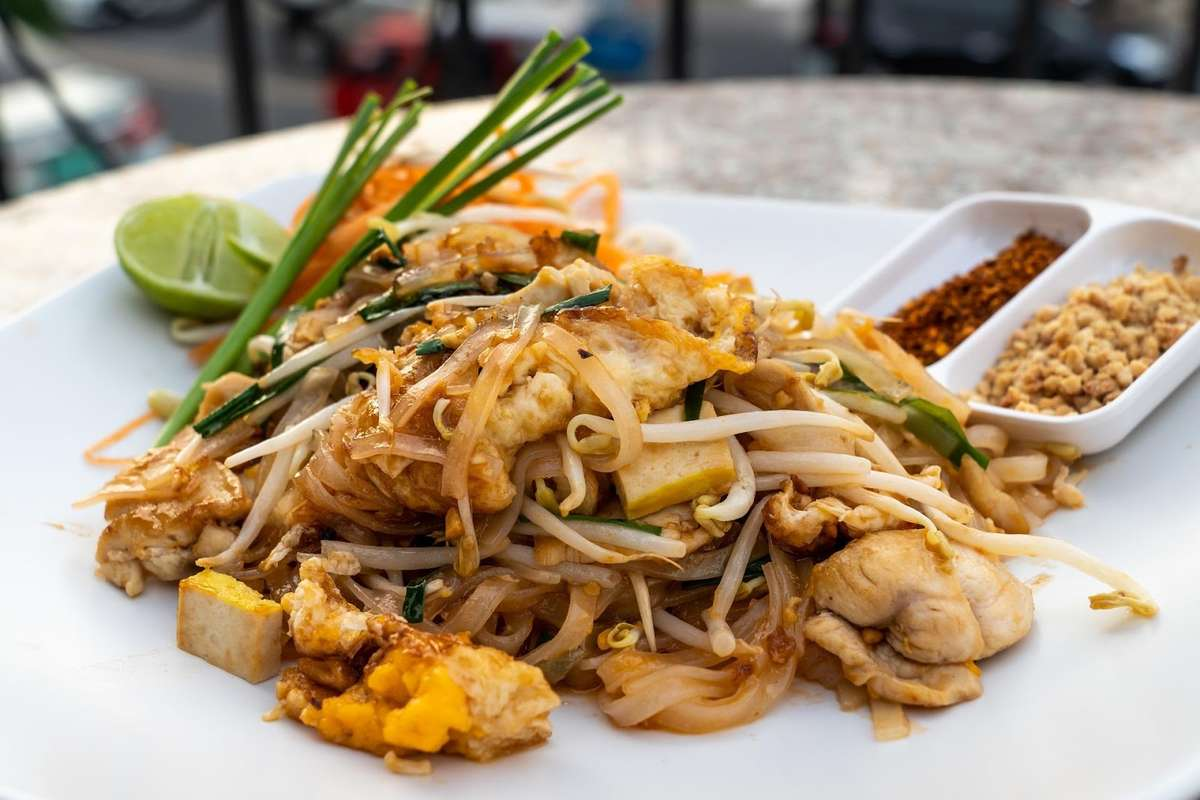 Late-night Pad Thai in Los Angeles