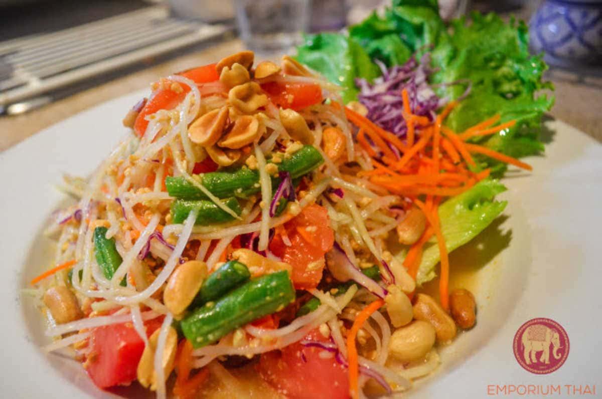 Papaya Salad-Vegan