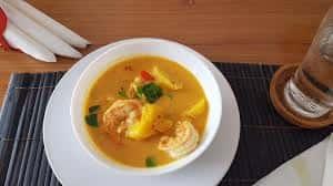 Shrimp Pineapple Curry