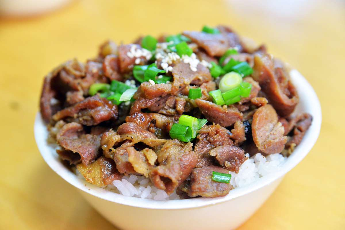 Beef Bowl or Pork Bowl