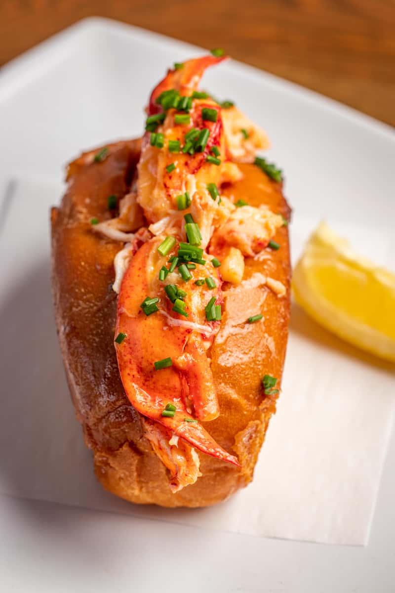 Lobster Roll w/ Cajun Fries