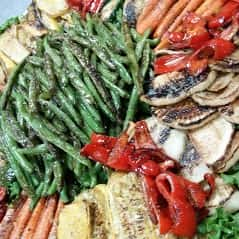 Marinated Grilled Vegetable Tray