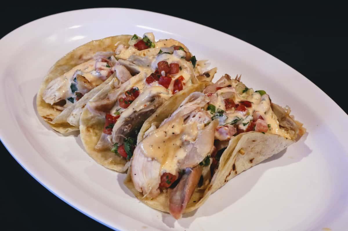 Wild Chicken Tacos