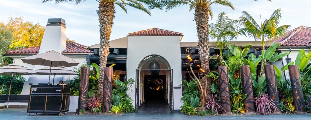 Javier's Newport Beach Entrance