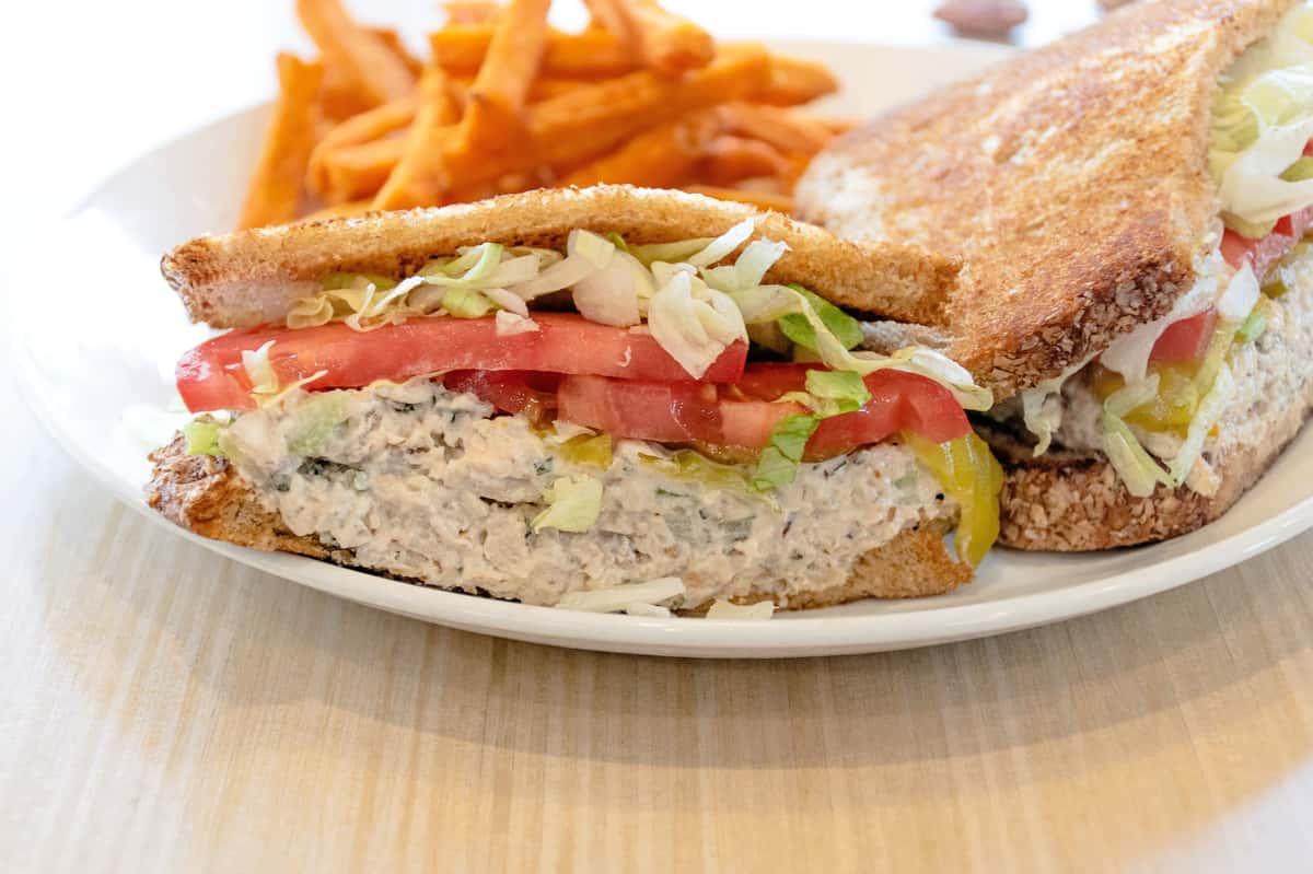 Jenny's Homemade Chicken Salad Sandwich