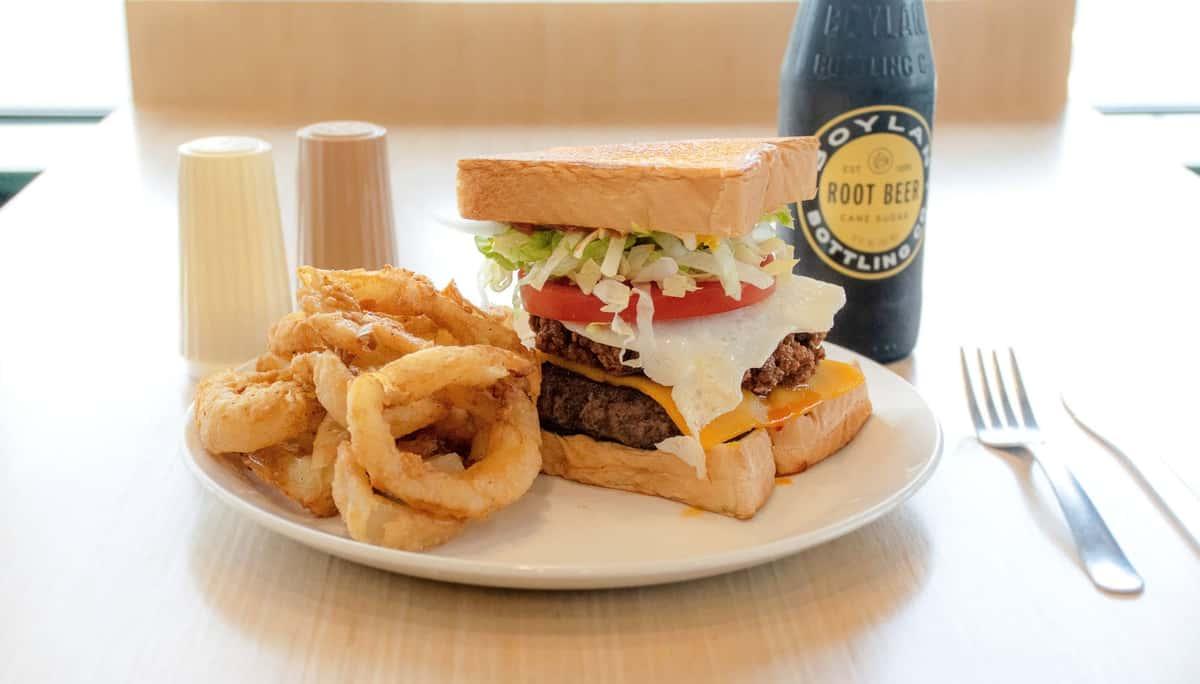 texas toast burger