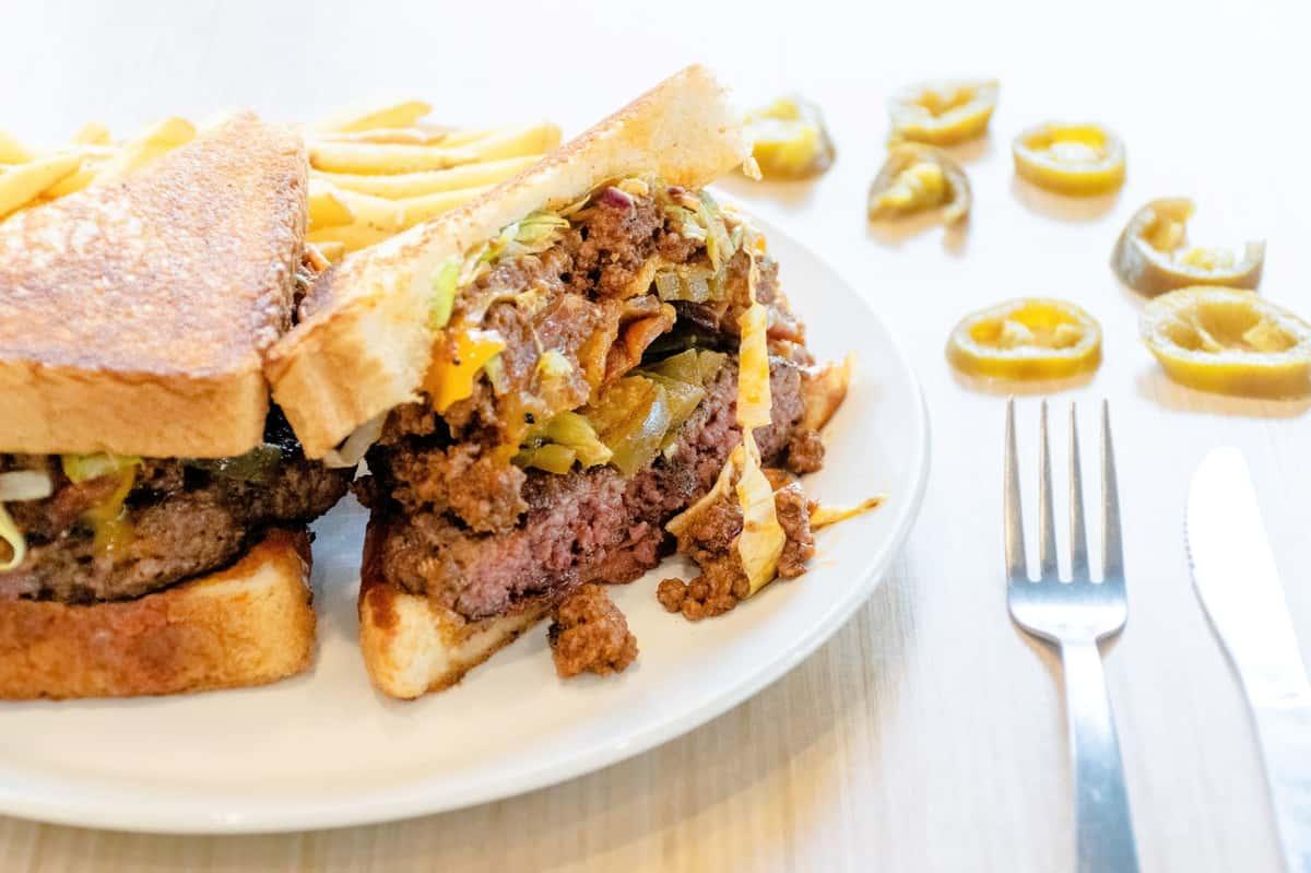 Sassy Senorita Burger
