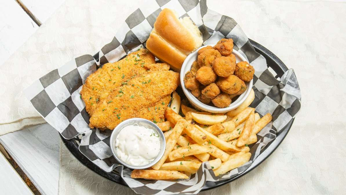 Fried Catfish (2 Count) - Combo