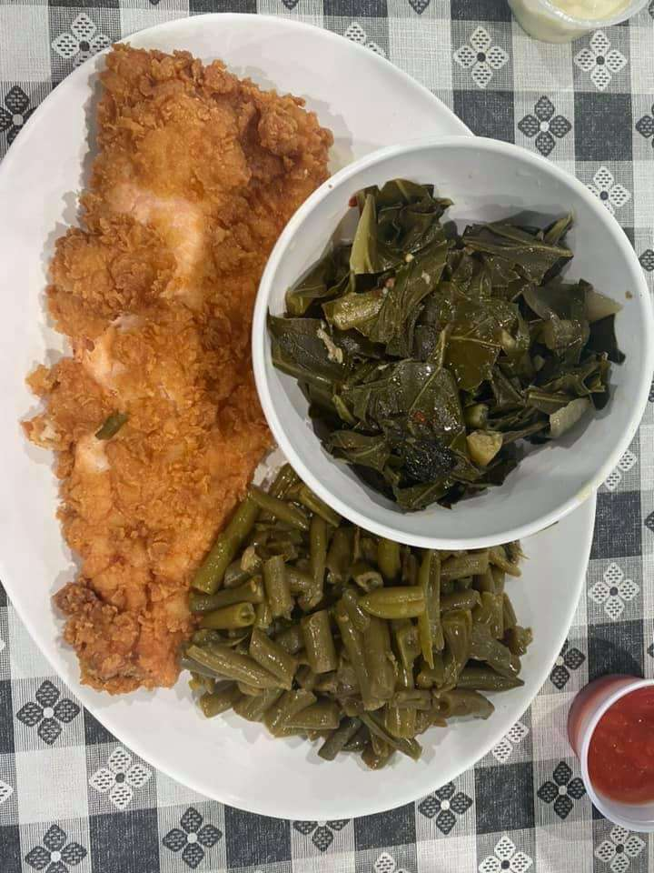 NC Campfire Fried Trout