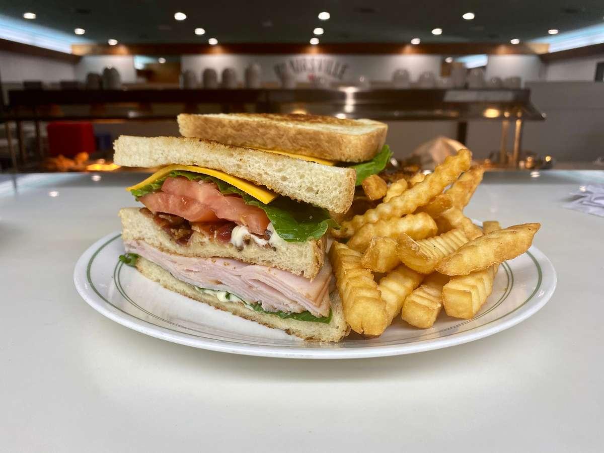 Bell Mountain Club Sandwich