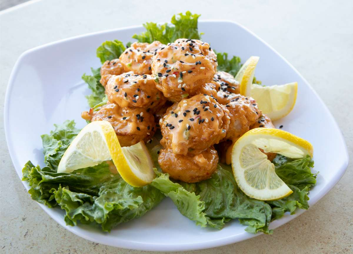Mango Habanero Chicken or Shrimp