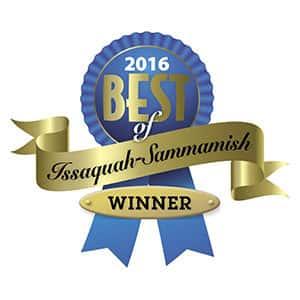 2016 Best of Issaquah Sammamish Winner