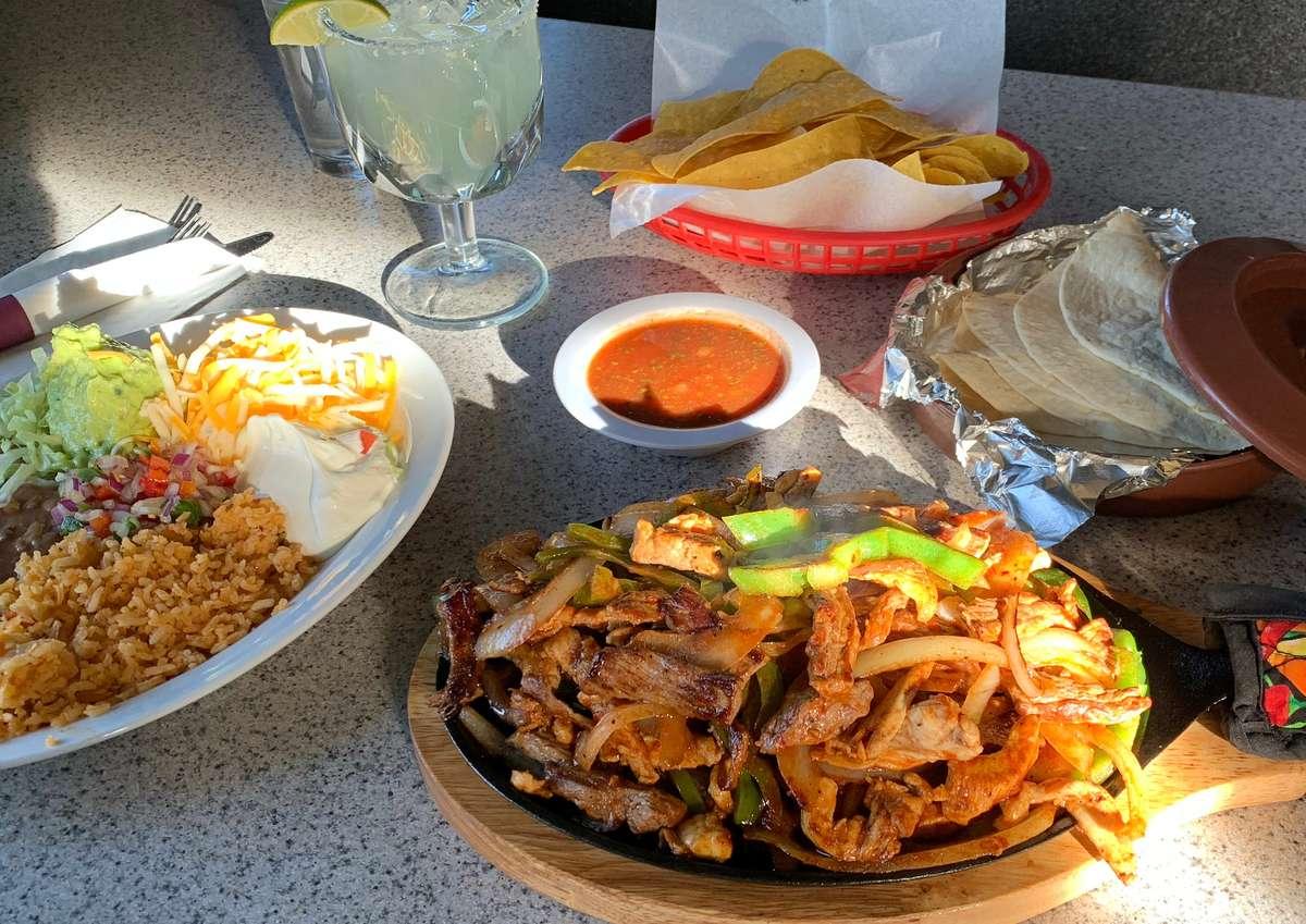 Fajitas for 2 | Mixed Grill