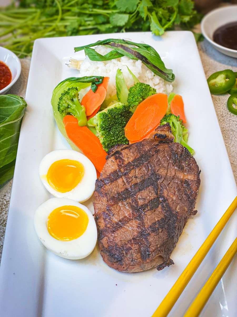 Pork Rice Plate