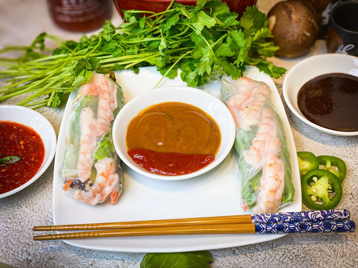 Shrimp Spring Roll