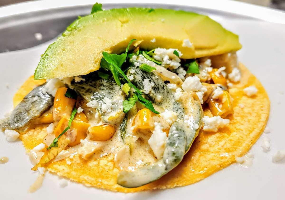 Rajas Taco