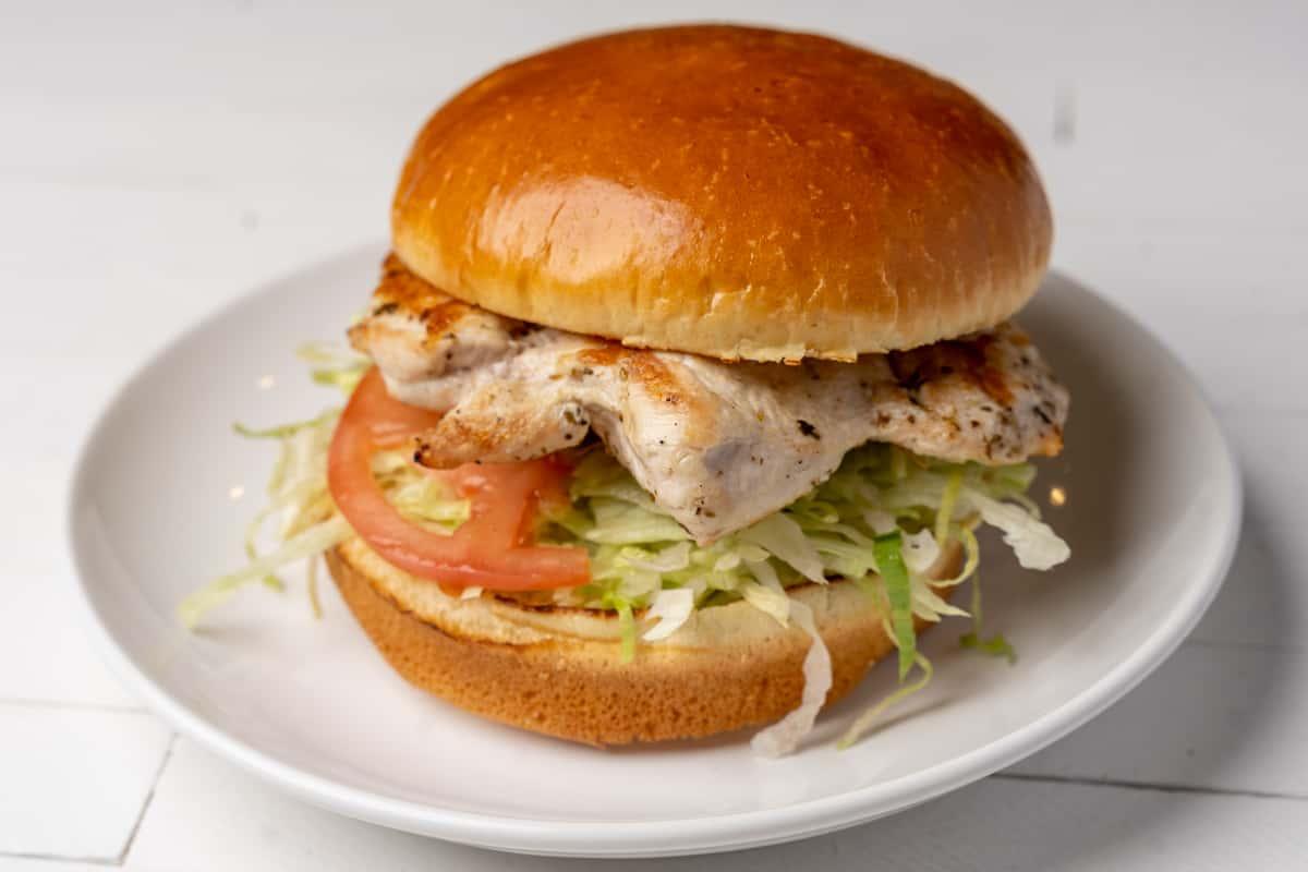 Grilled Chicken Breast Sandwich