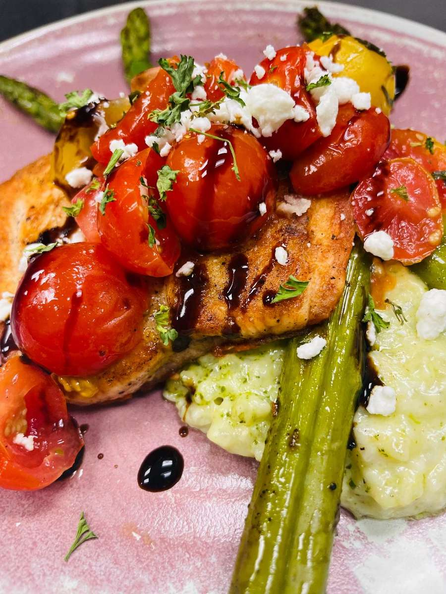 Bruschetta Salmon for Four