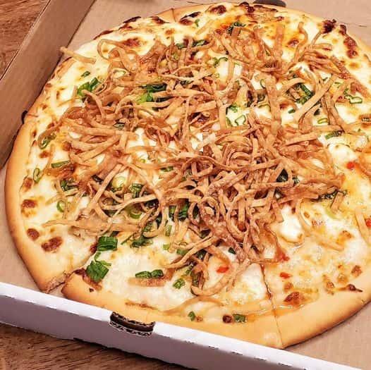 Jumbo Crab Rangoon Pizza