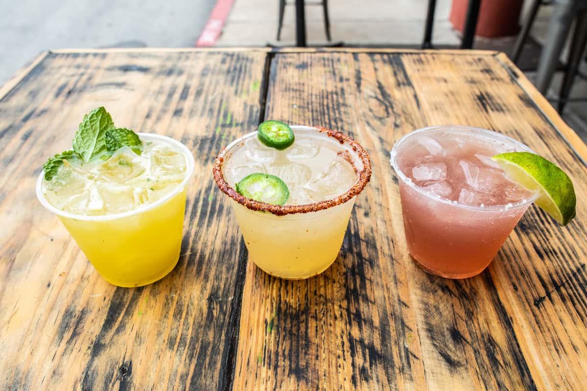 Multiple cocktails