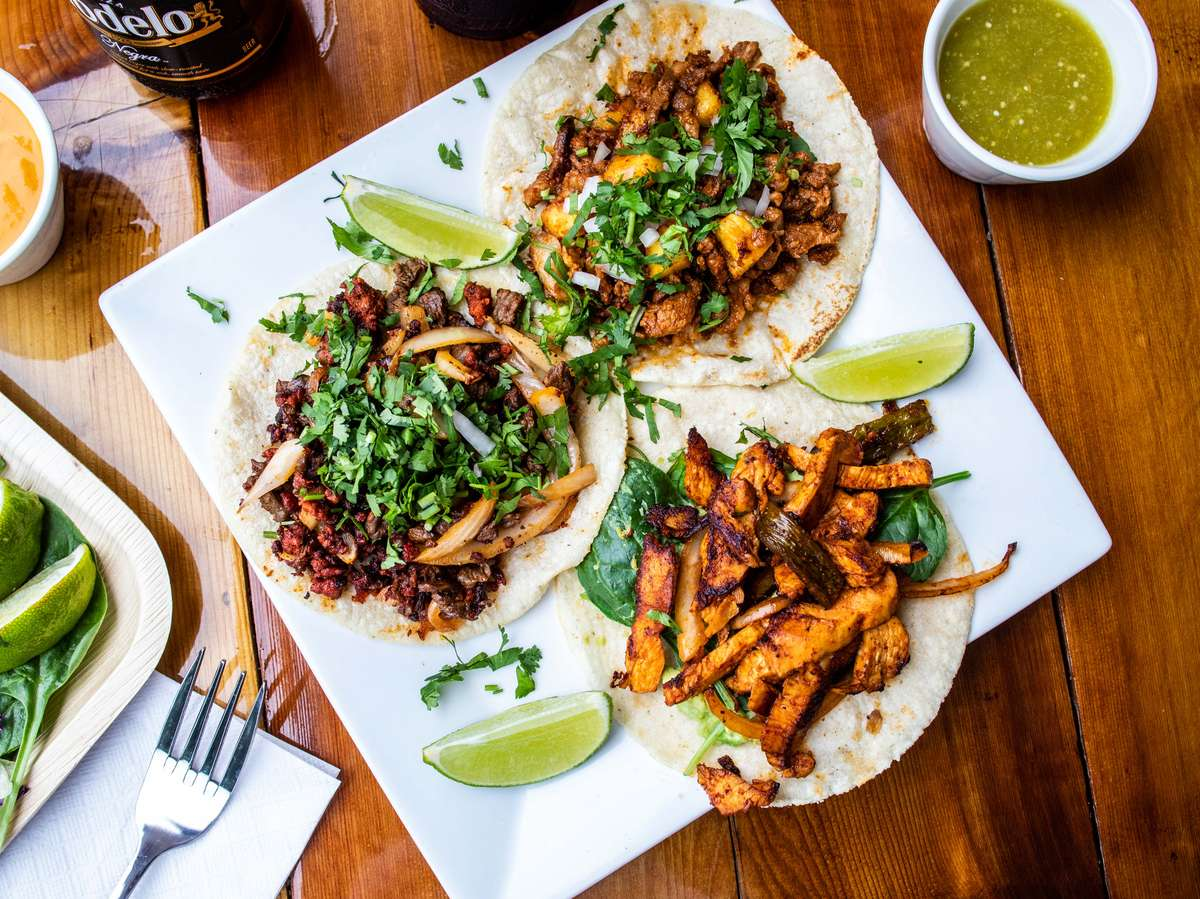 Multiple tacos